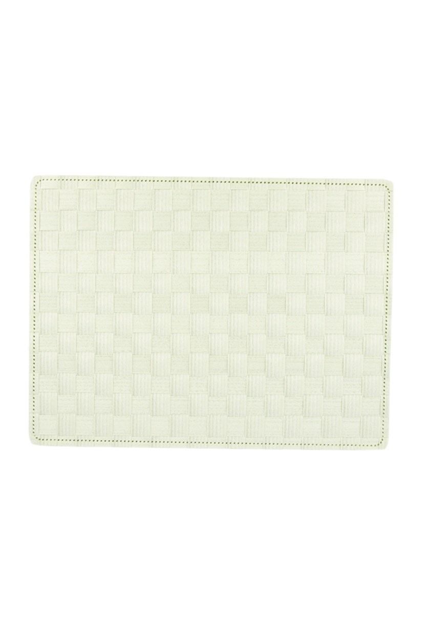 Textured Placemat, Light Green