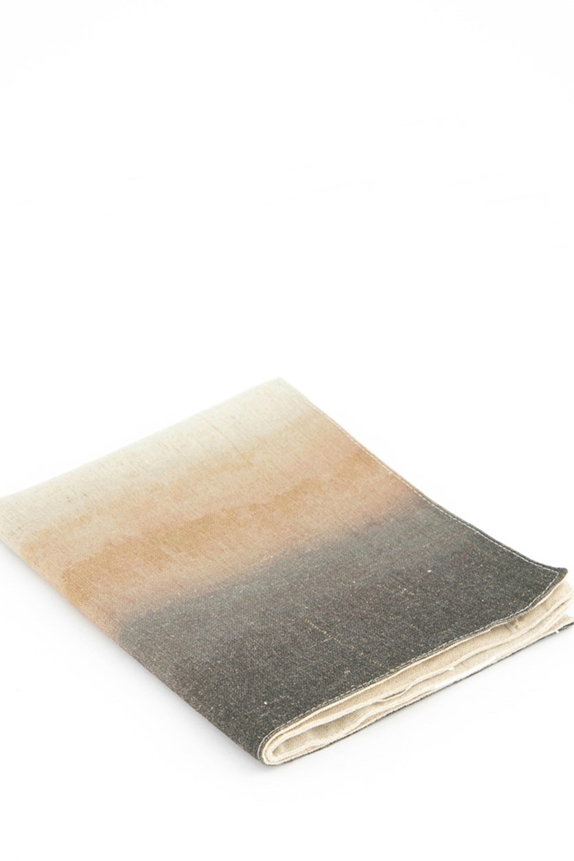 Ombre Placemat, Nude/Black