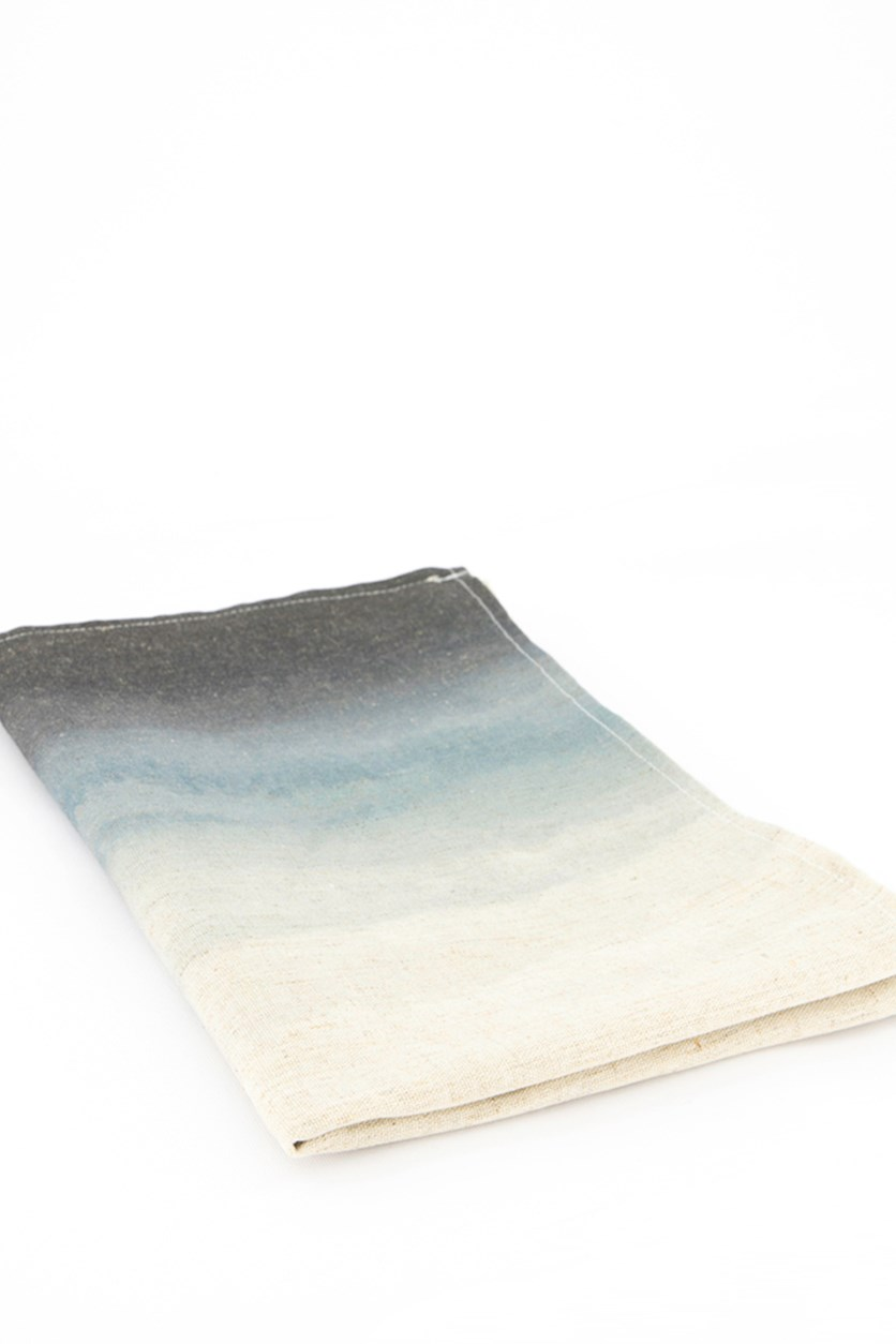 Ombre Table Runner, Nude/Black