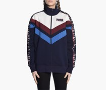 Puma Women's Blocked Track Jacket, Navy