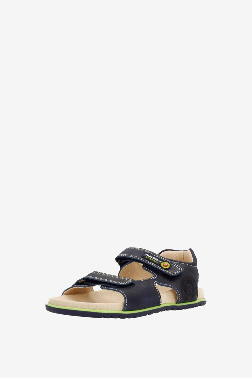Kids Boy's Maya Marino Sandals, Navy