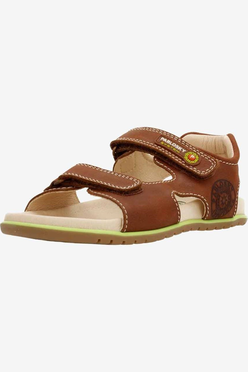 Kids Boy's Sandals, Brown