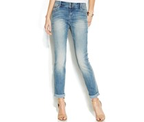 INC International Concepts Boyfriend Jeans, Zivy Wash