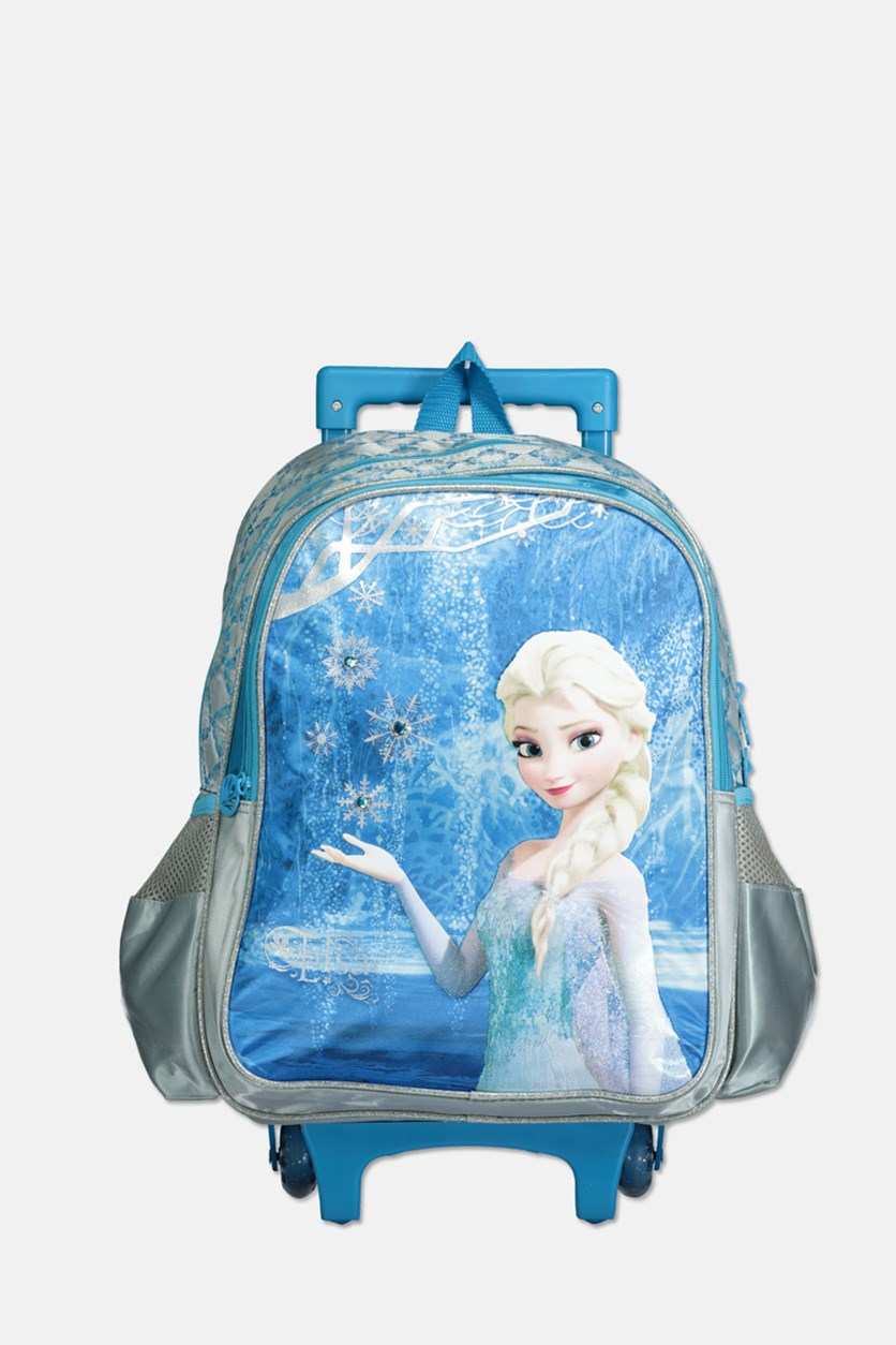 Frozen Snow Land Magic Trolley, Blue/Grey Combo