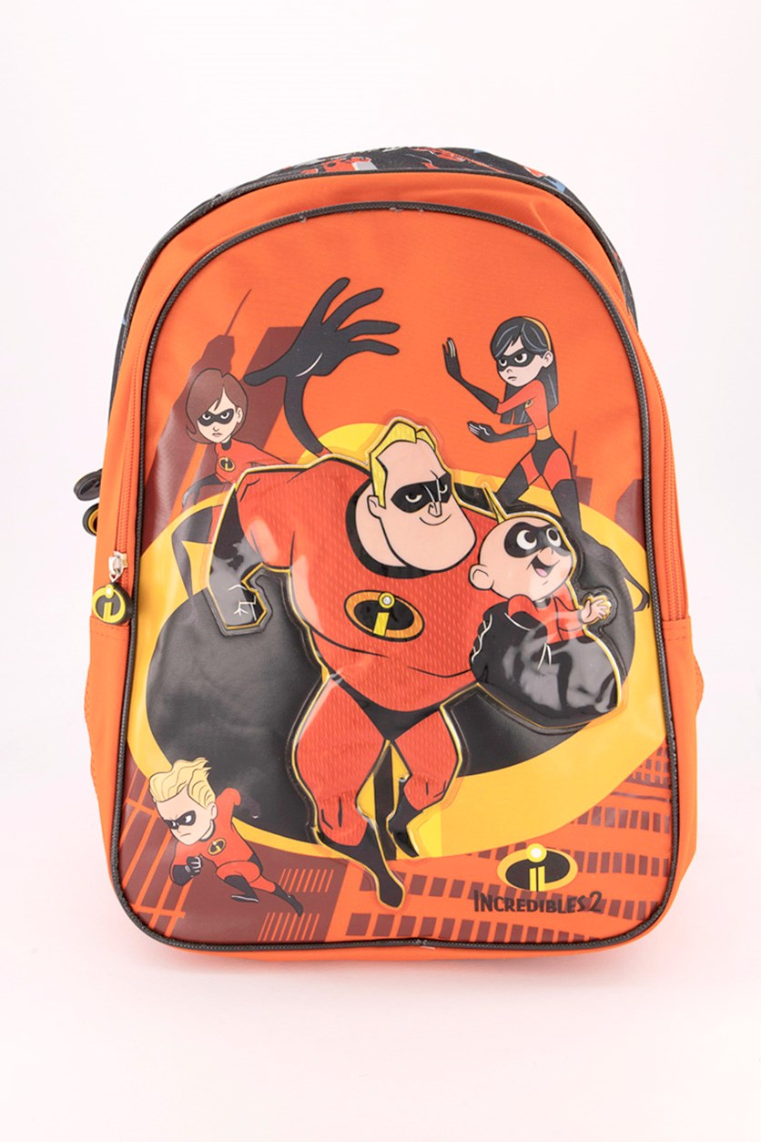 The Incredibles 2 Pure Potential Backpack, Orange Combo