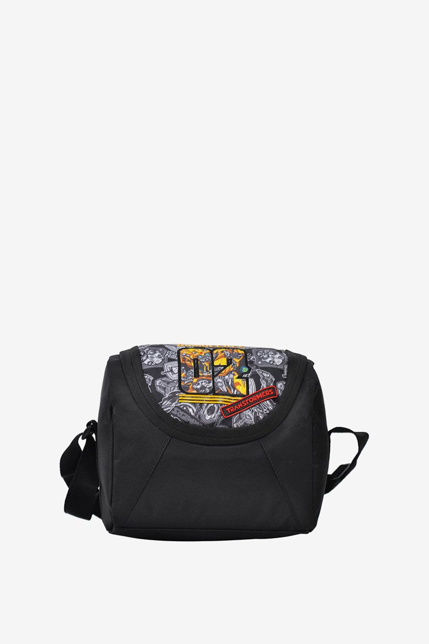 Transformers Last Battle Lunch Bag, Black Combo