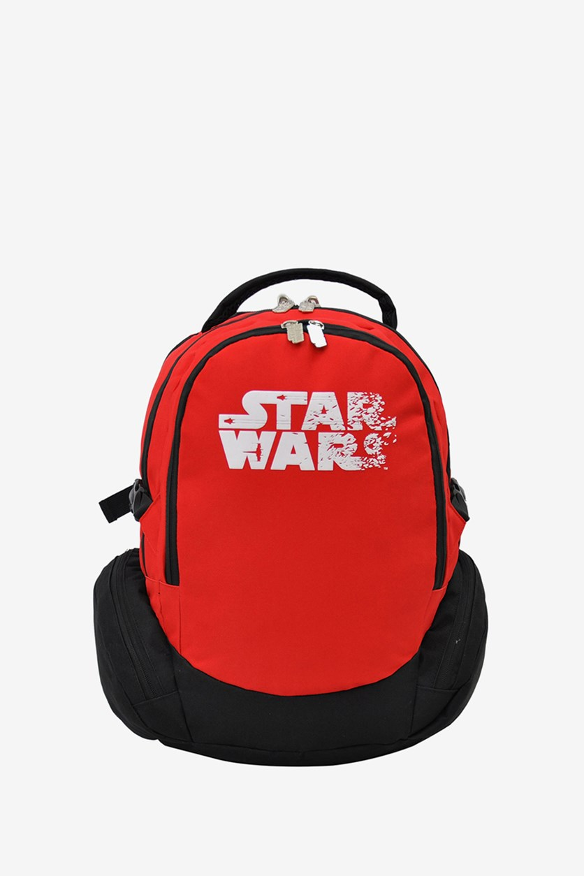 Star Wars White Logo Backpack, Red/Black/White
