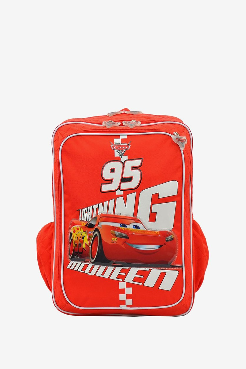 Disney Pixar Cars Backpack, Red
