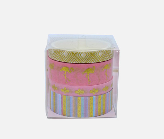 Gilding Masking Tape Animals, Pink