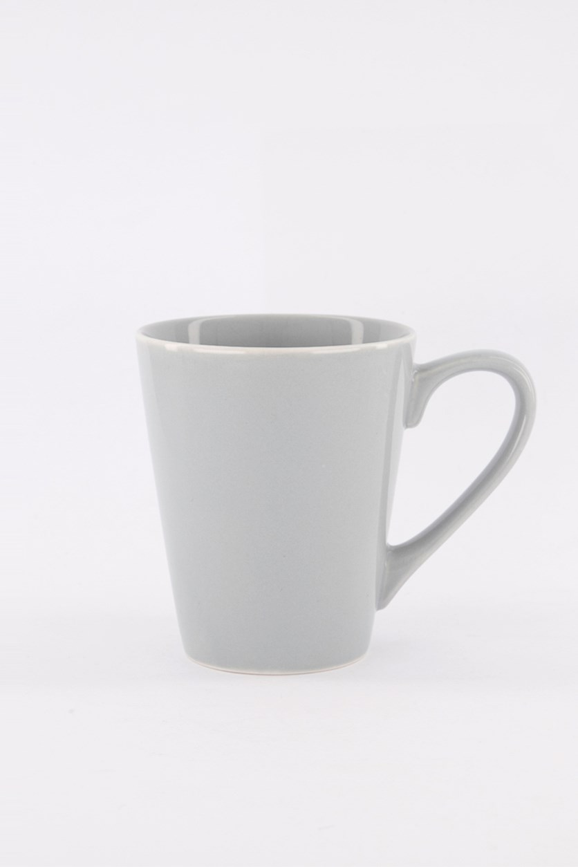 Mug Colored, Glaze Grey