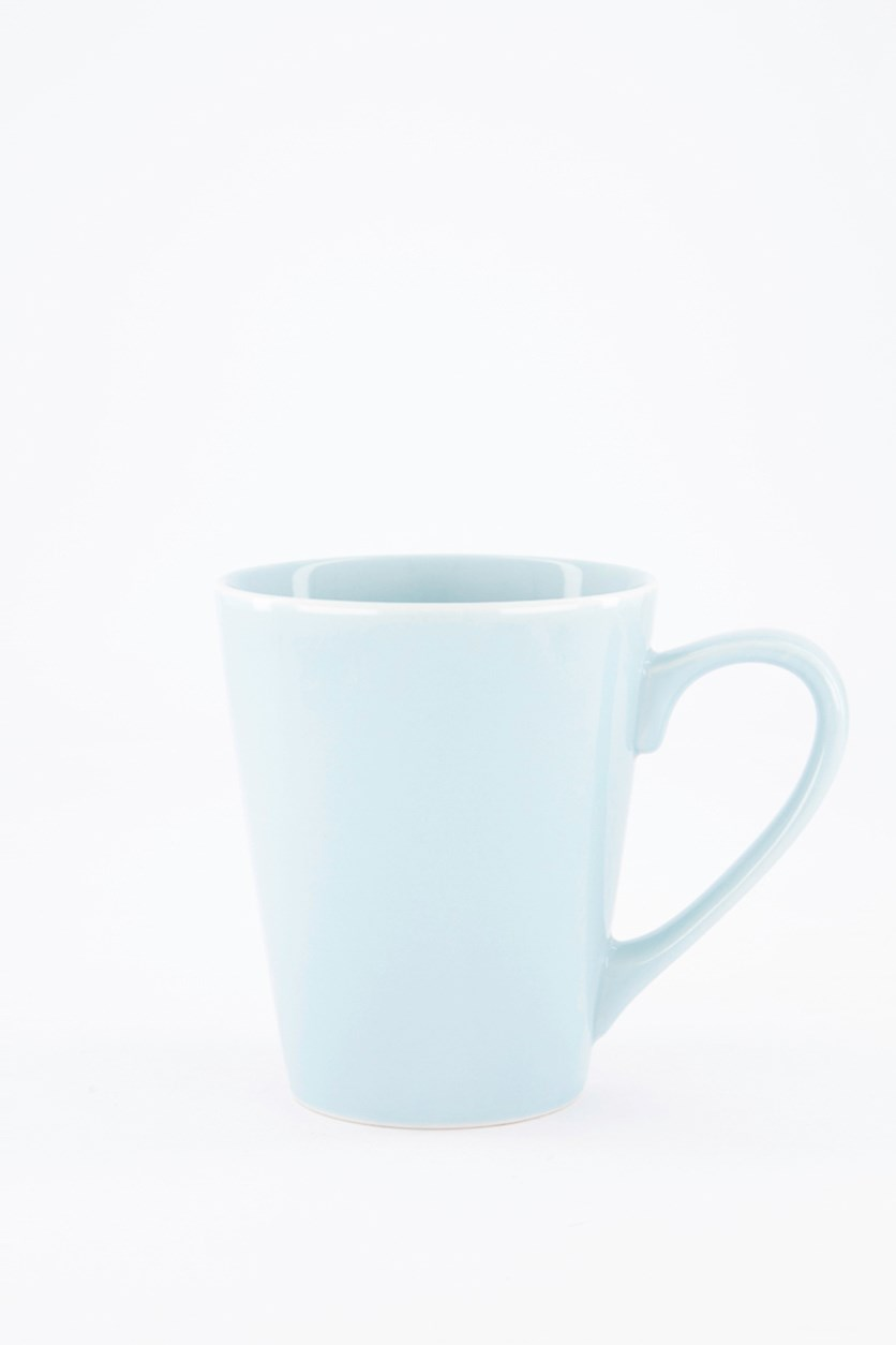 Mugs Colored, Glaze Blue