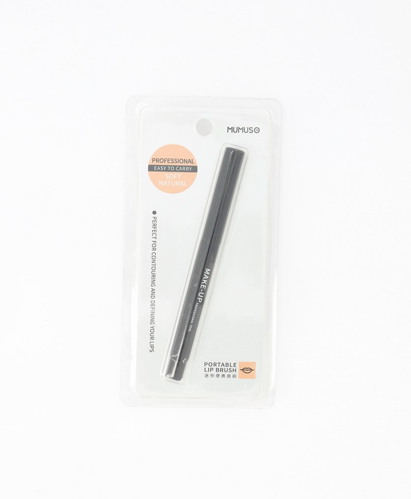 Portable Lip Brush, Black