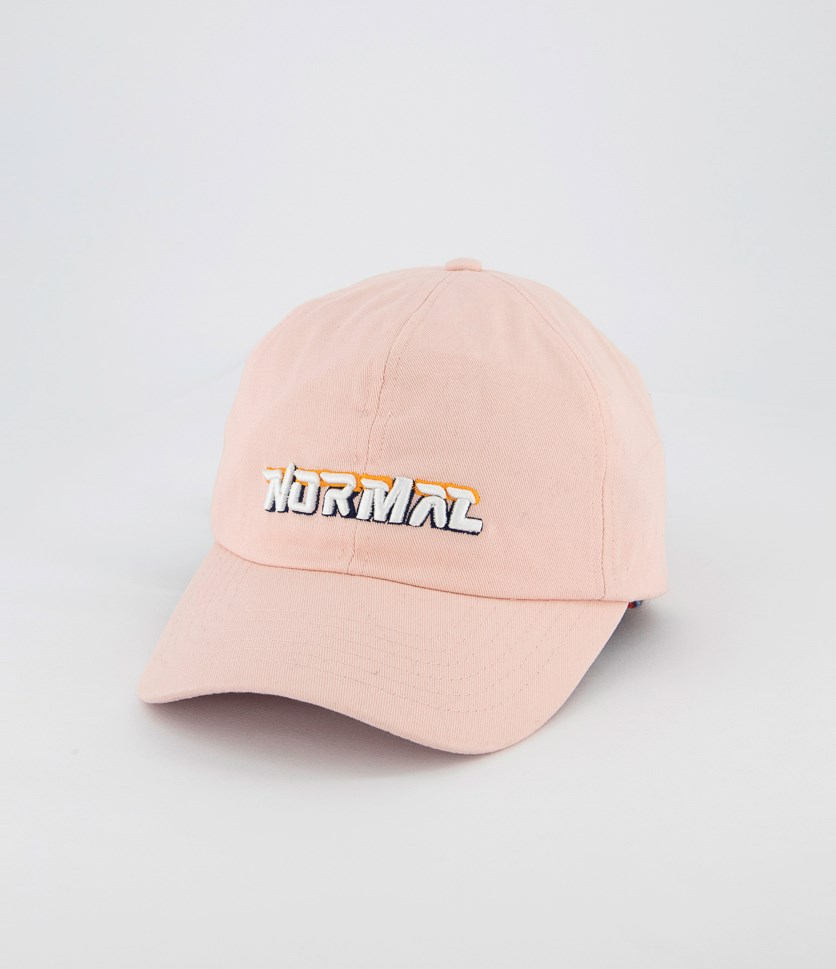Baseball Embroidered Cap, Pink