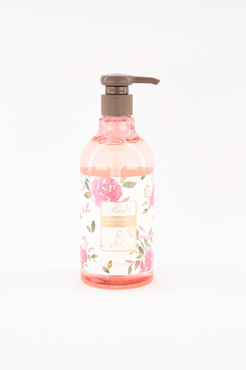 Women's Rose Shower Gel, Pink