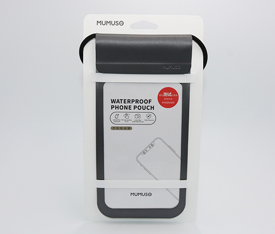 Waterproof Phone Pouch, Black