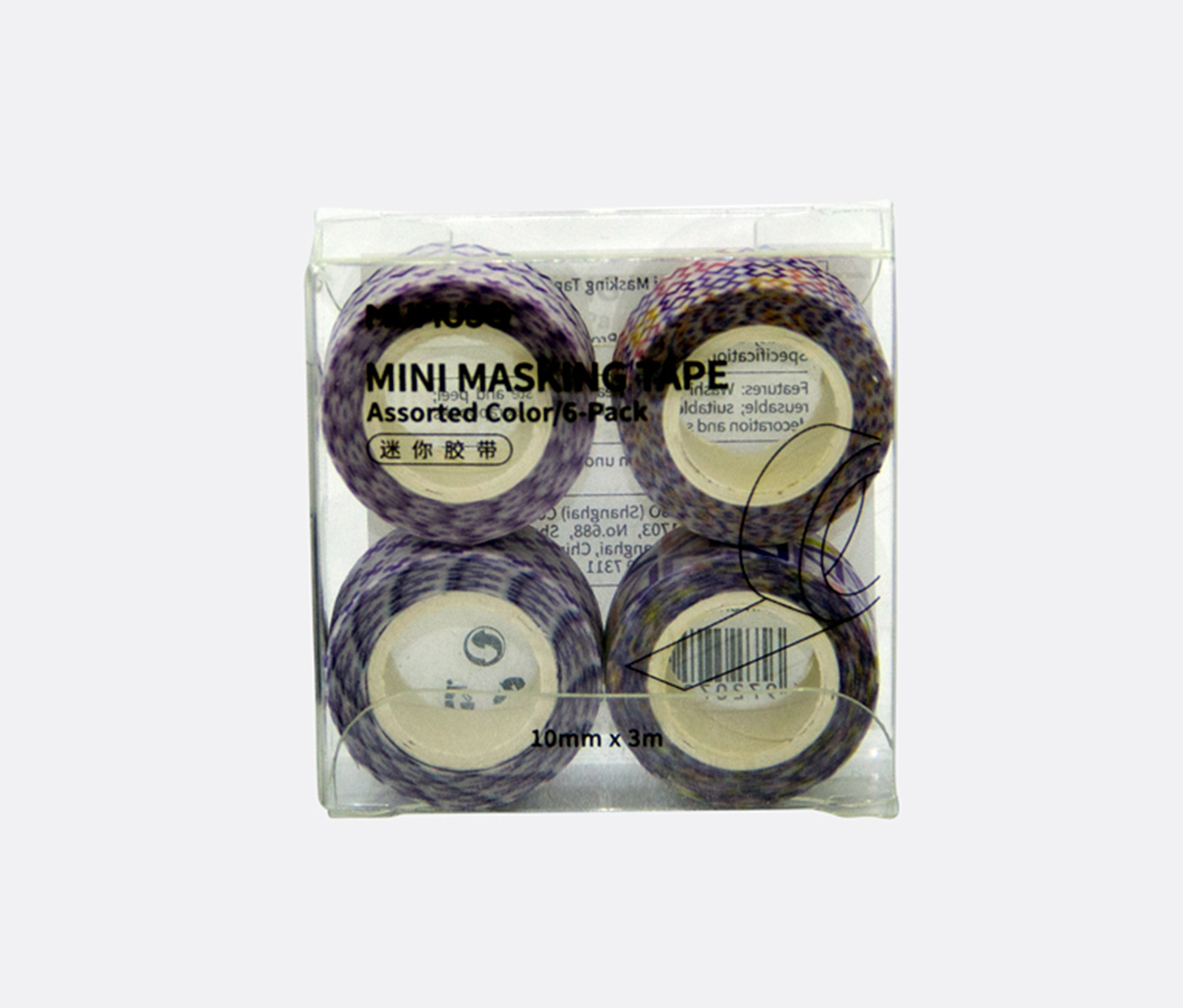 Mini Masking Tape, Purple