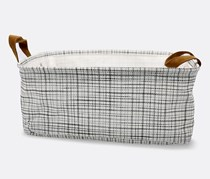 Storage Basket, White/Black