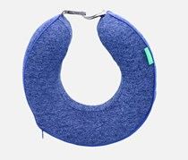 U shaped Neck Pillow Memory Foam, Blue