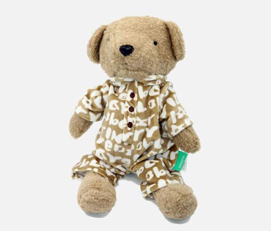 Bear In Pajamas, Brown