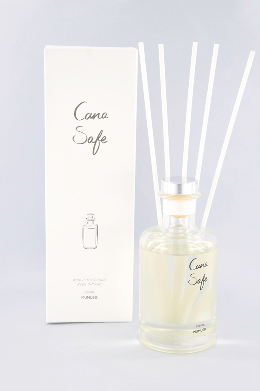 Cana Safe Reed Diffuser, White