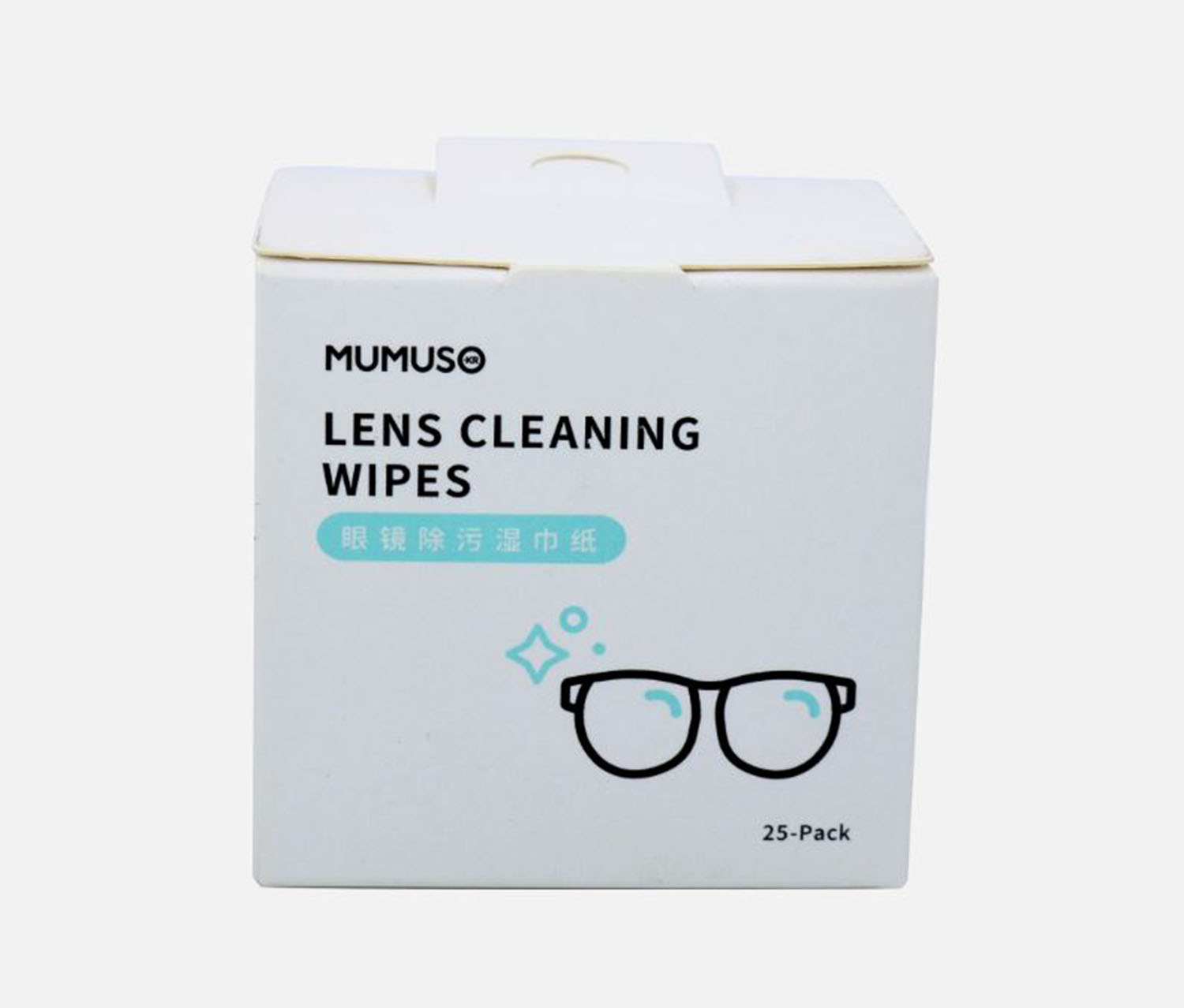 Lens Cleaning Wipes, White