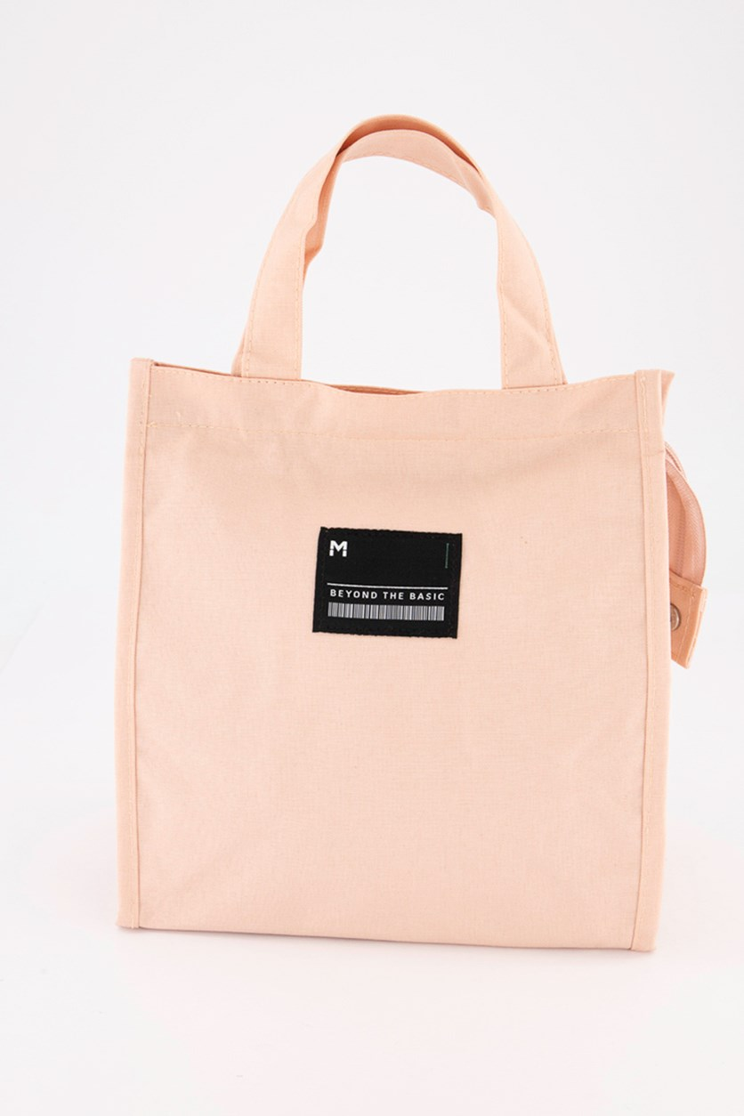 Lunch Bag With Logo, Pink