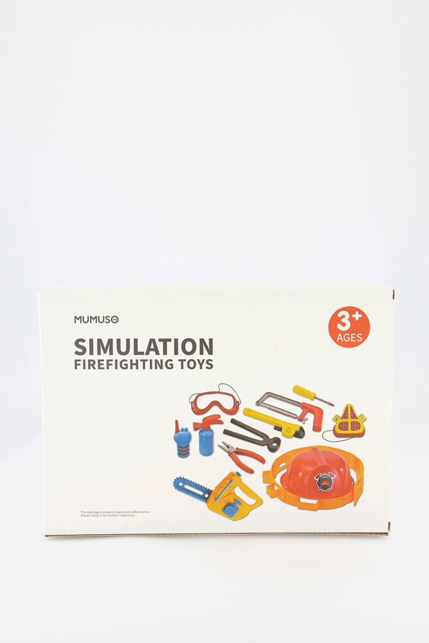 Simulation Firefighting Toys, White Combo