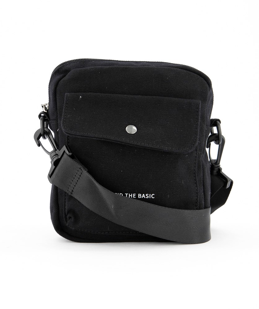 Crossbody Sports Bag, Black