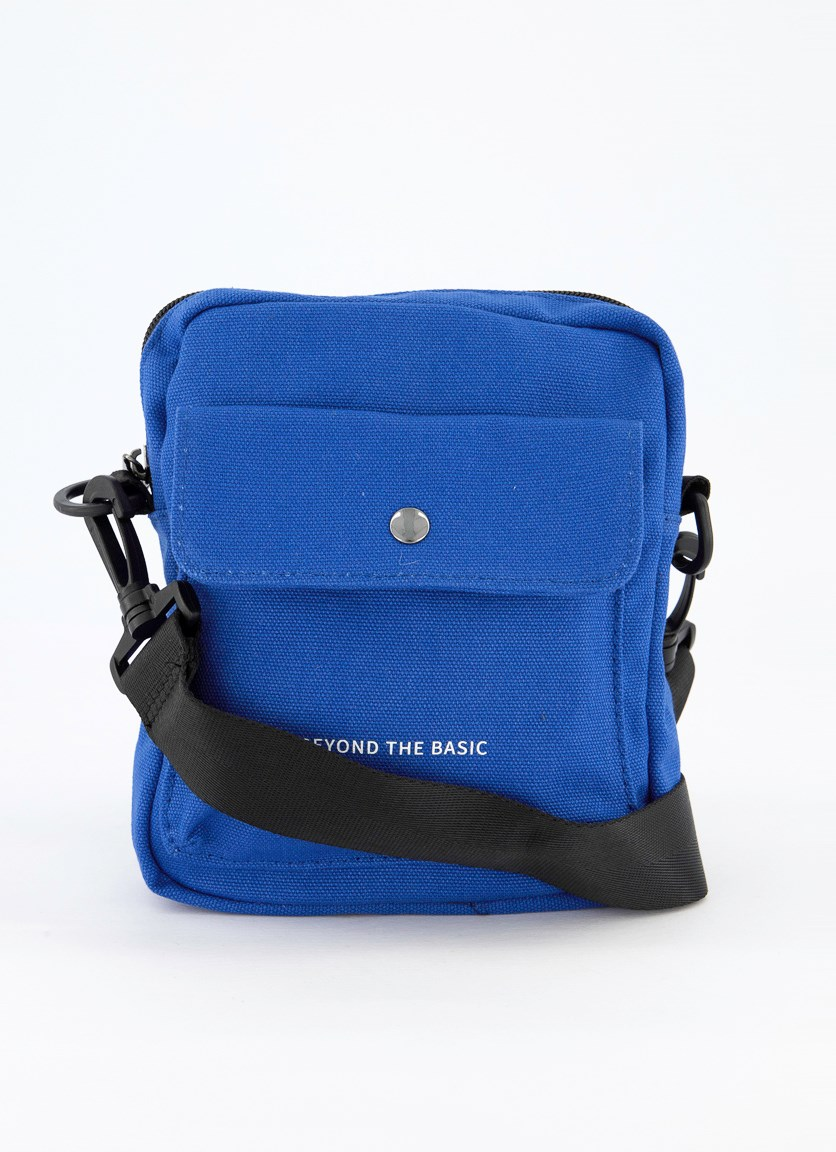 Crossbody Sports Bag, Blue
