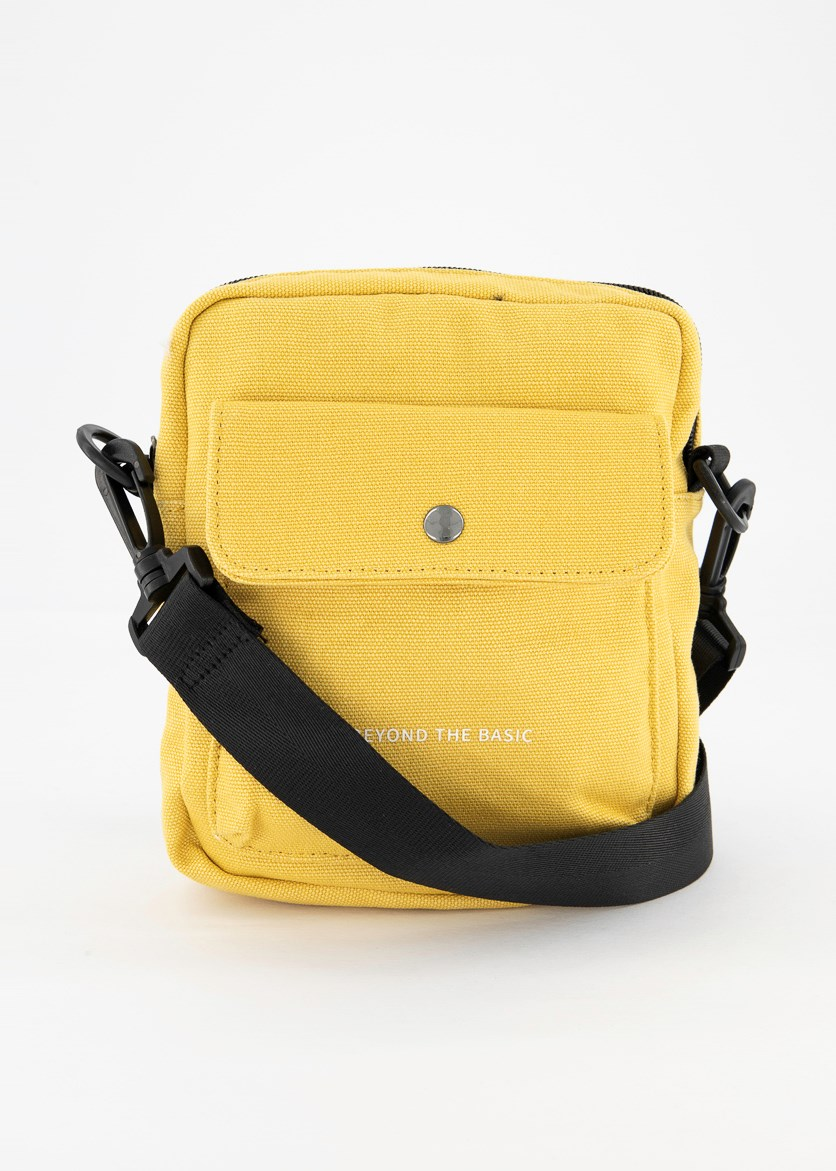 Crossbody Sports Bag, Yellow