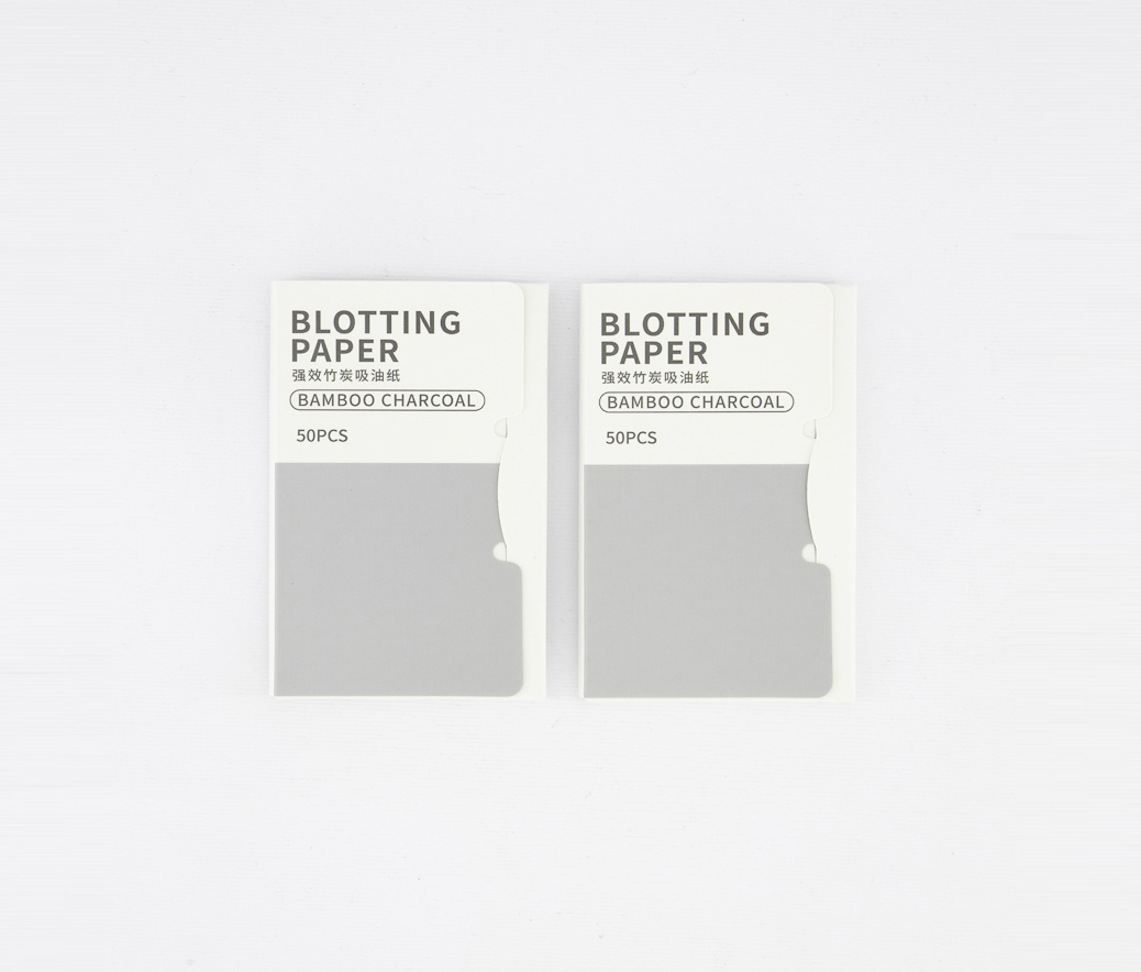 Oil Blotting Paper, Bamboo Charcoal