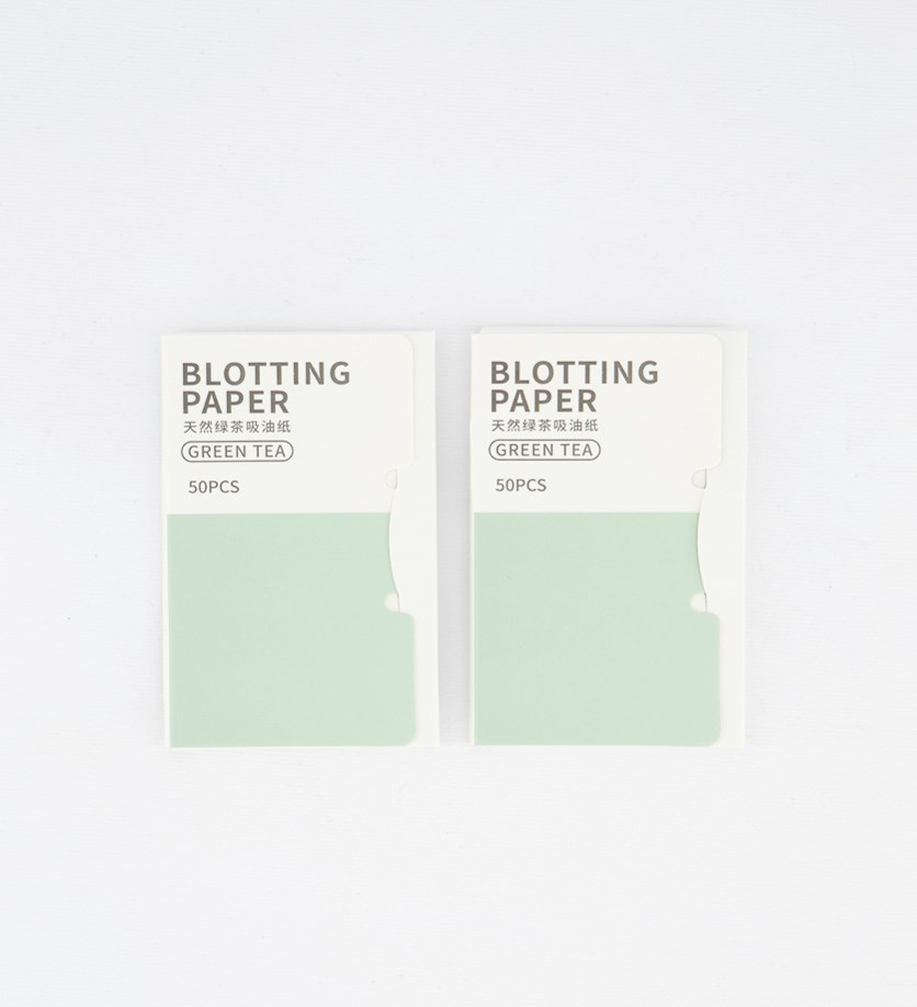 Oil Blotting Paper, Green Tea
