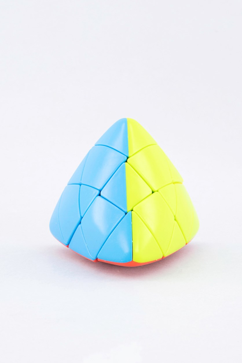 Triangle Magic Cube, Yellow/Blue/Red