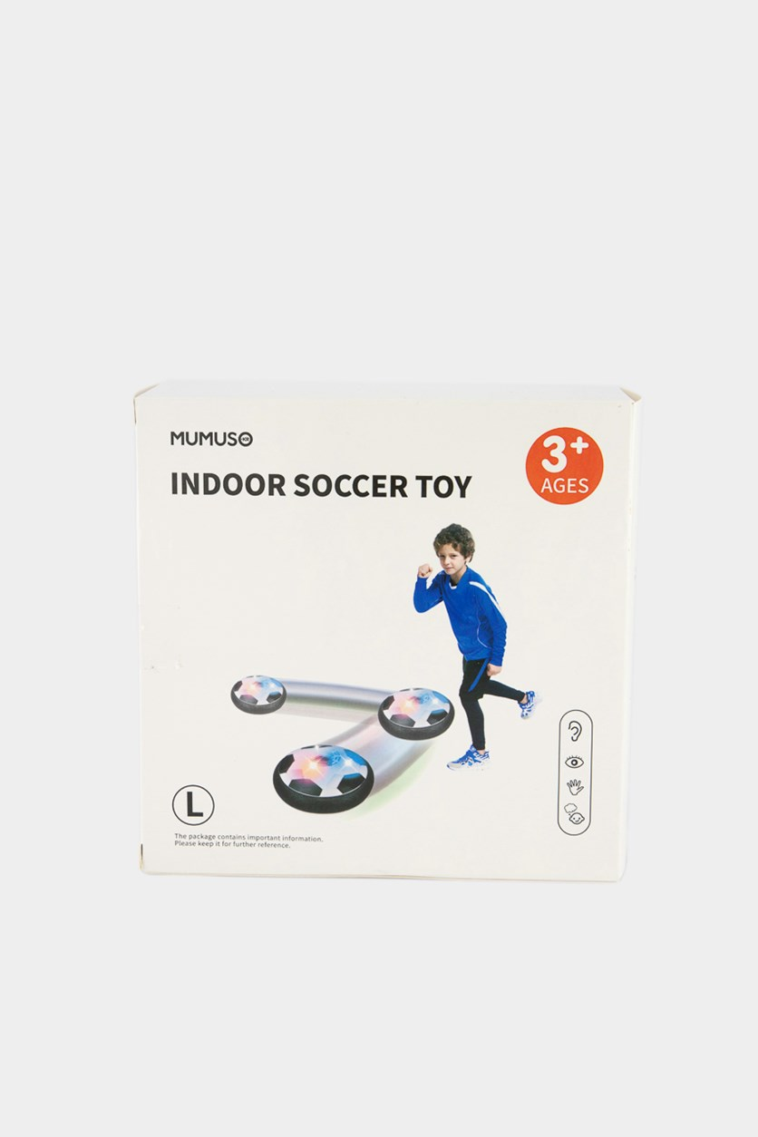 Indoor Soccer Toy, White Combo