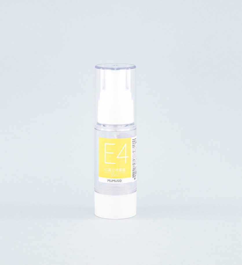 AS Vacuum Spray Bottle 30 ml, Transparent