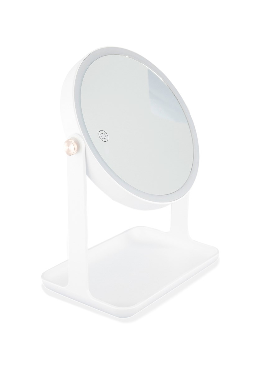 LED High Definition Makeup Mirror, White