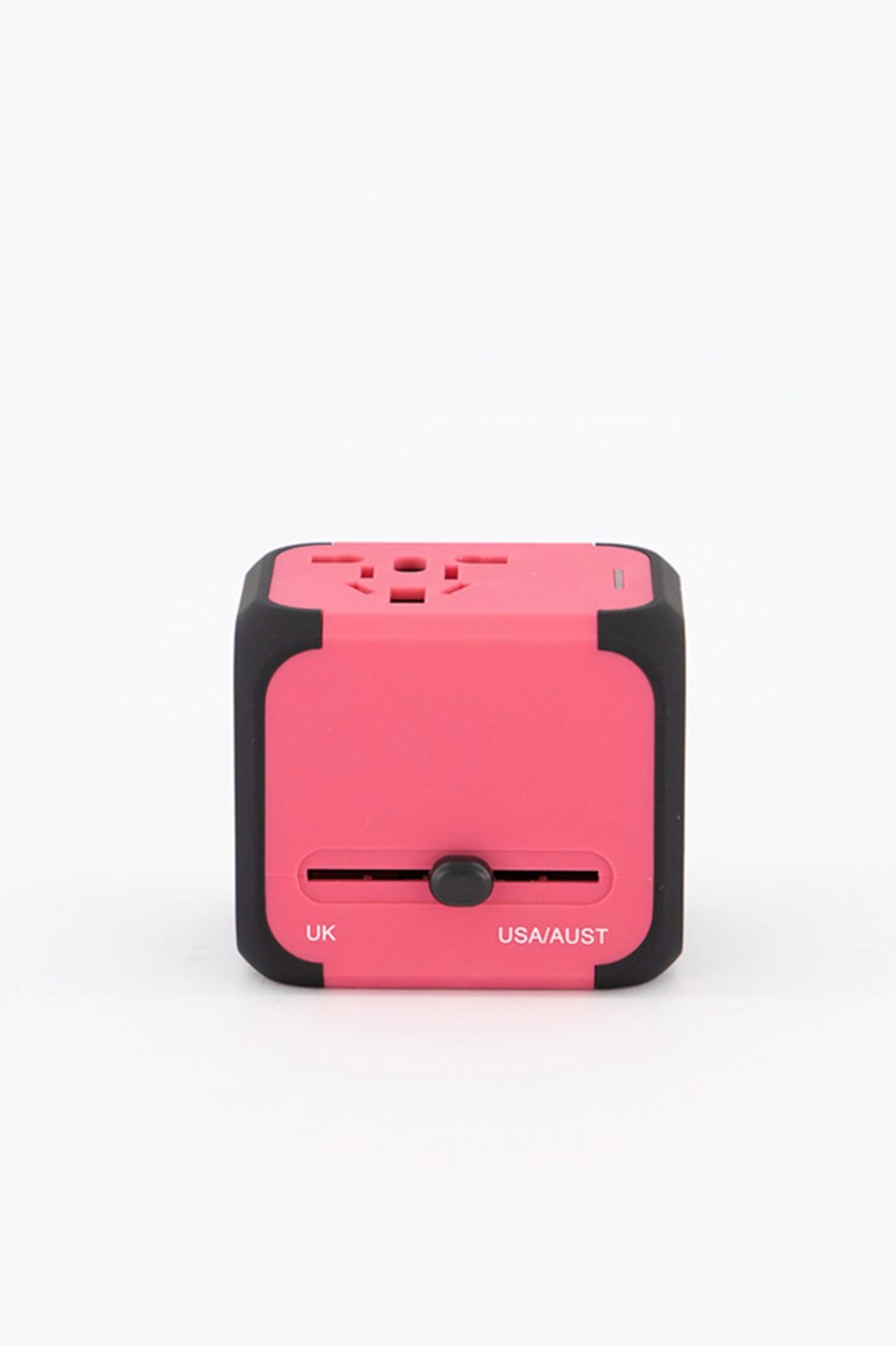 Multifunctional Charger, Pink/Black