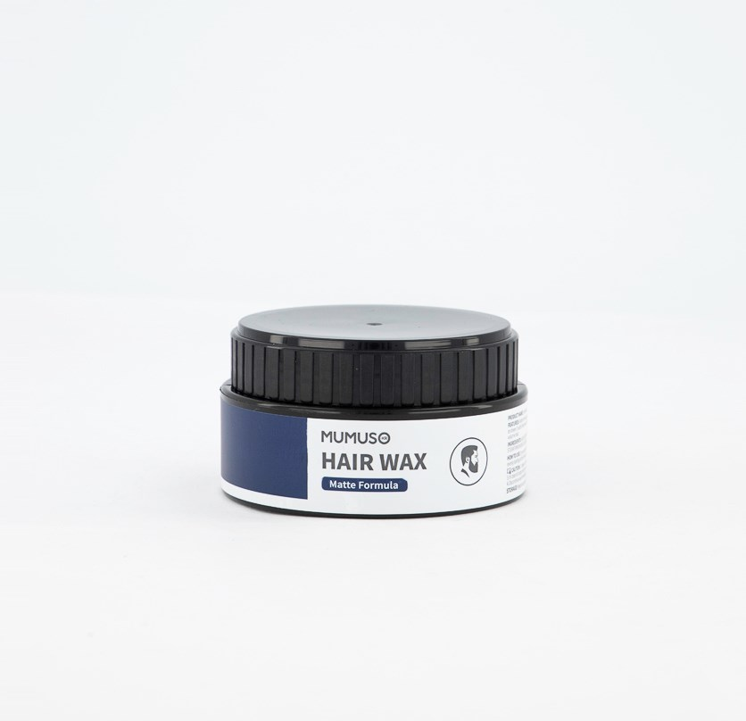 Hair Wax Matte Formula, Black