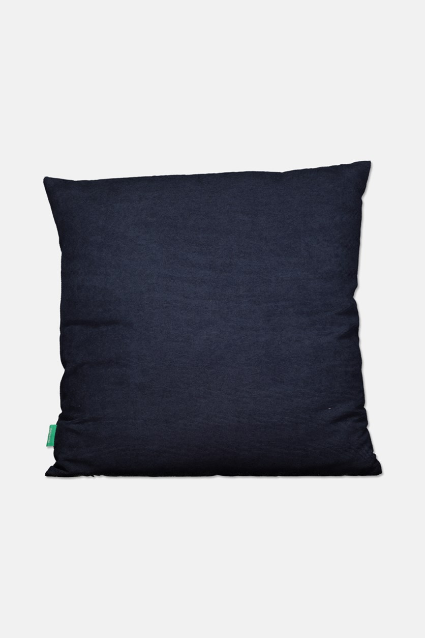 Throw Pillow, Navy Blue