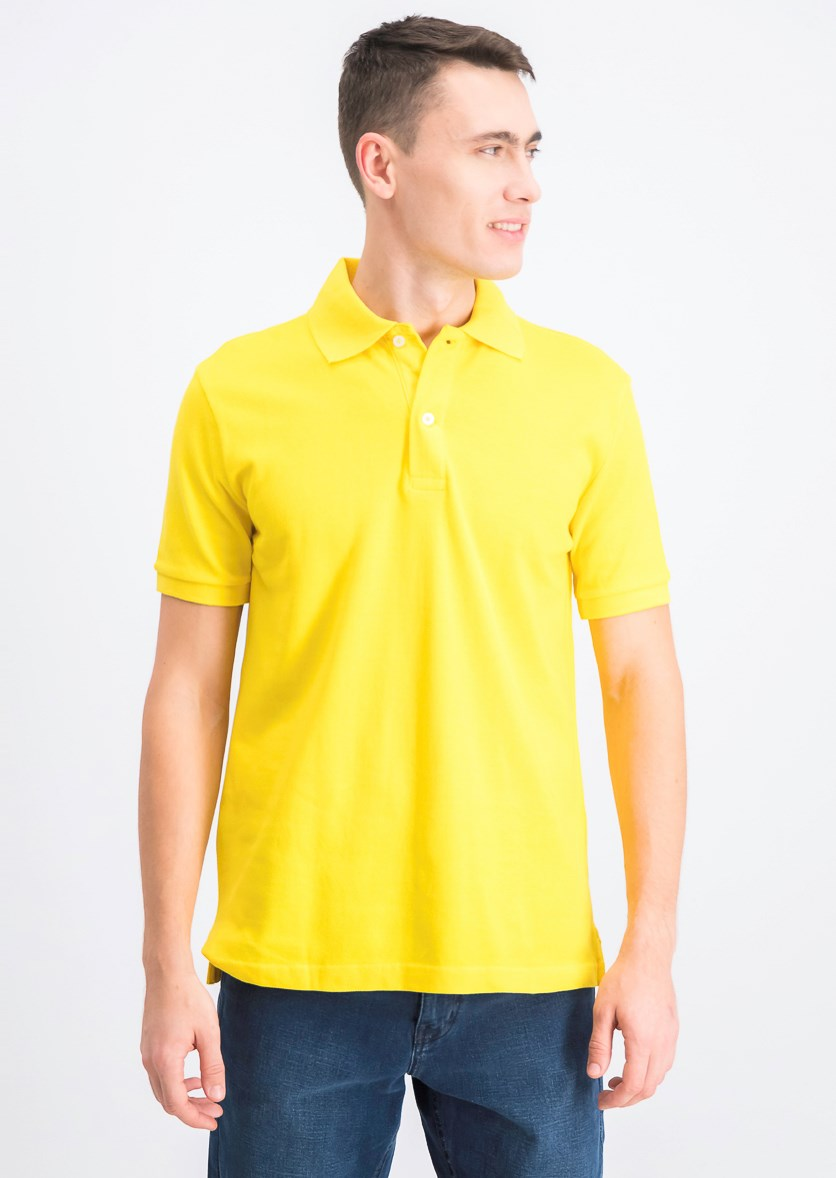 Men's Polo Shirt, Yellow
