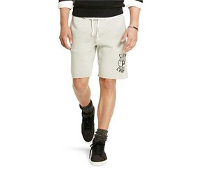 Ralph Lauren Men's Fleece Shorts, Engine Gray