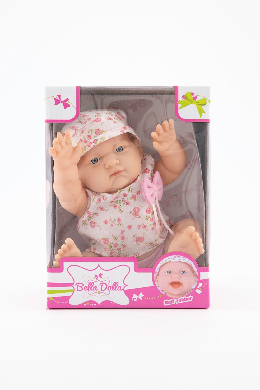Soft Rubber VinylDoll, Pink/White Combo