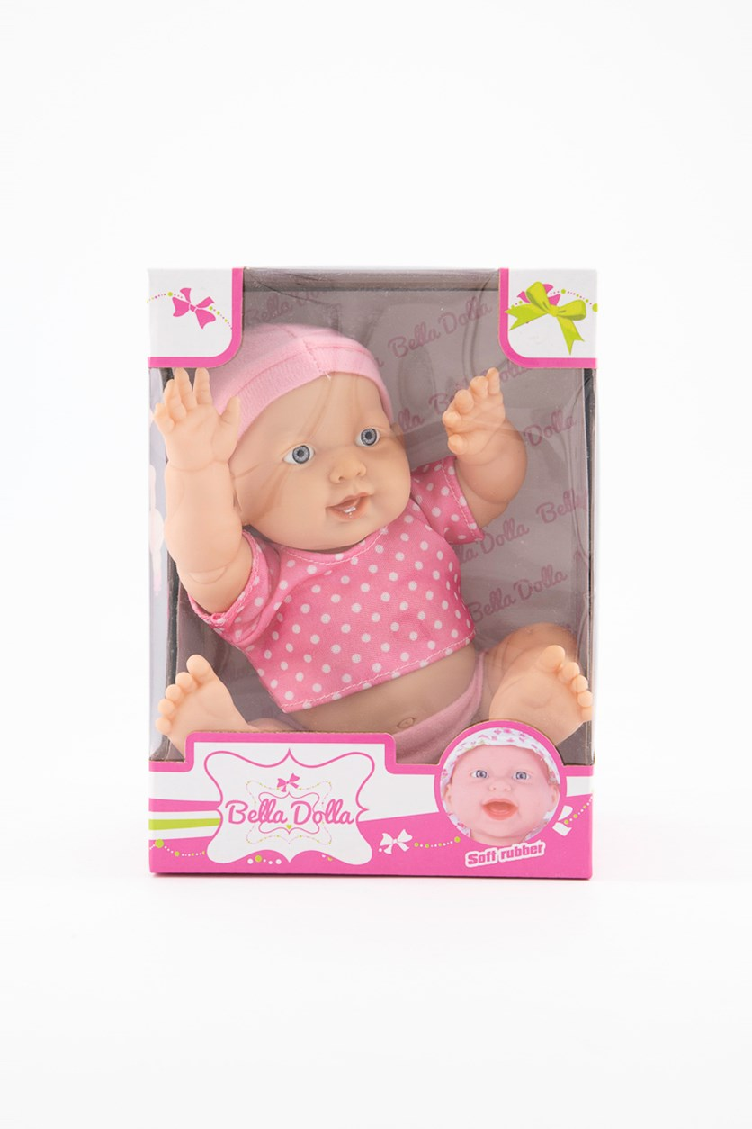 Soft Rubber Vinyl Doll, Pink
