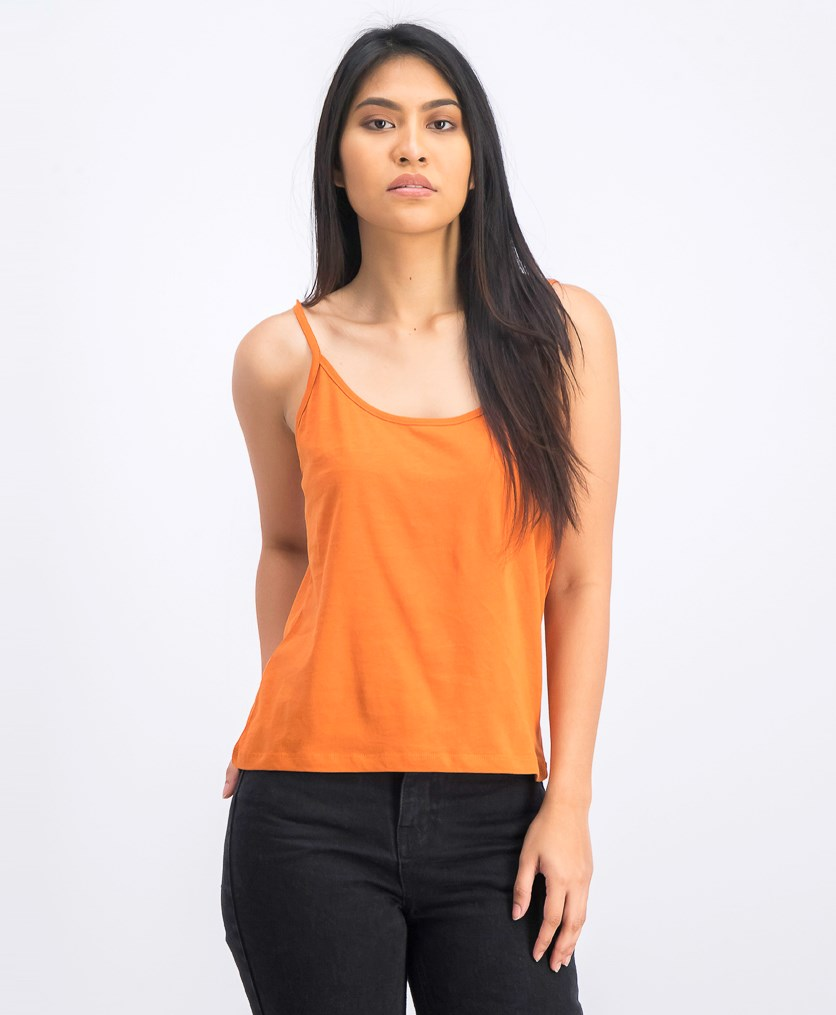 Women's Basic Singlet, Rust