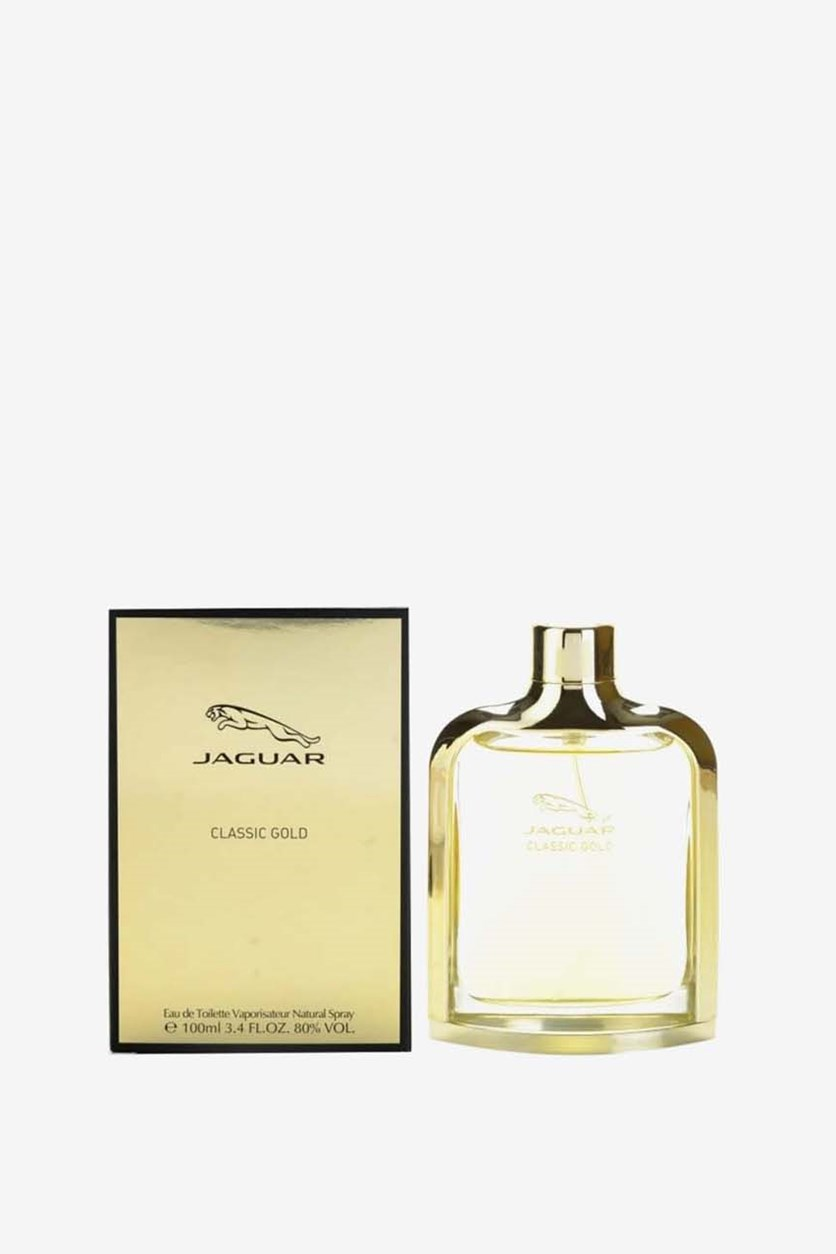 Classic Gold Eau De Toilette For Men, 100 ml