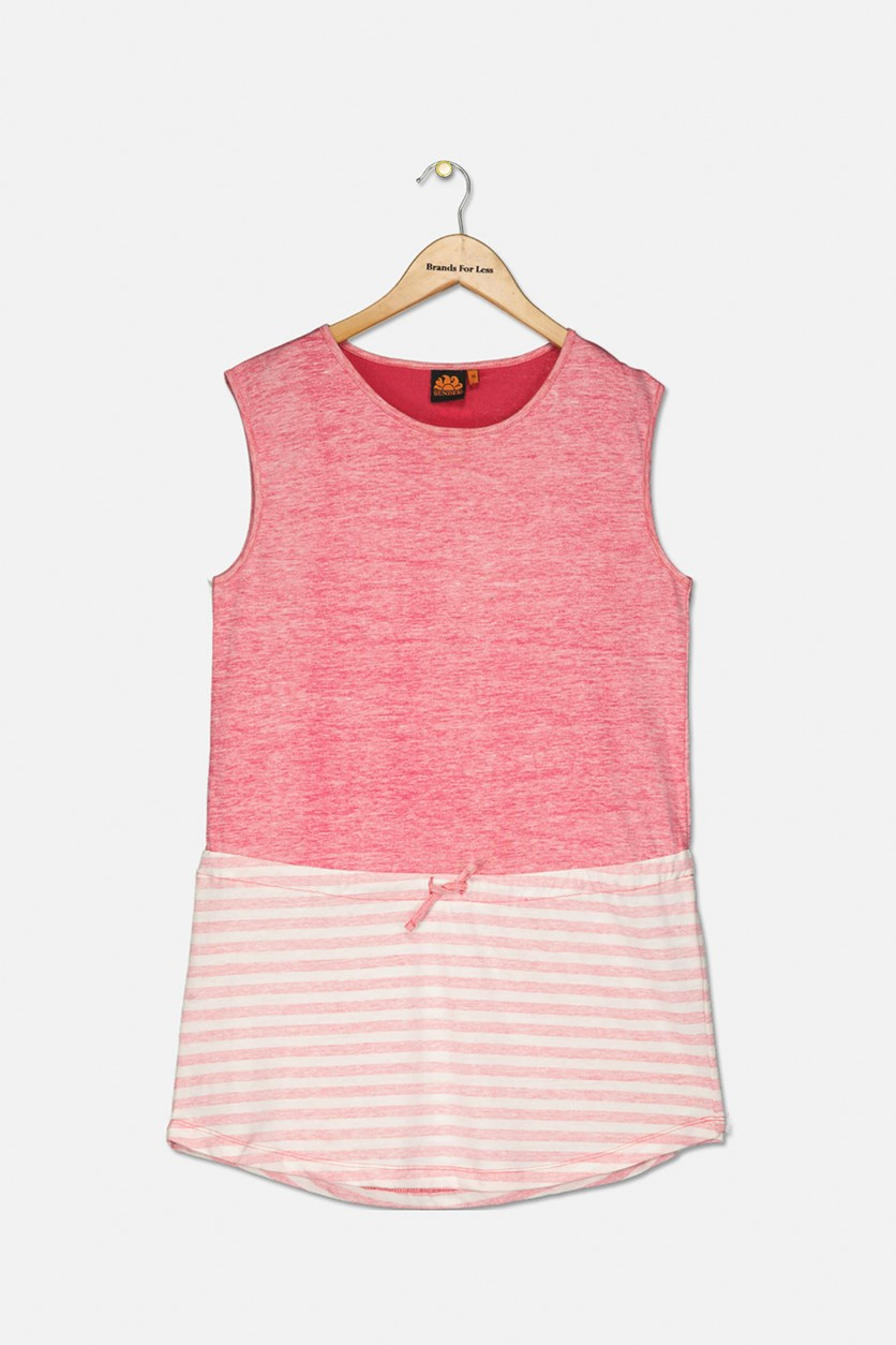 Girl's Mini Tracy Dress, Cotton Candy