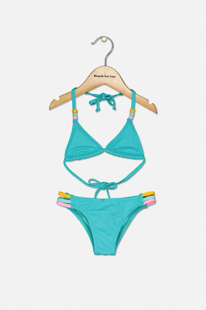 Kids Girl's Mini Jeniffer Bikini, Atoll