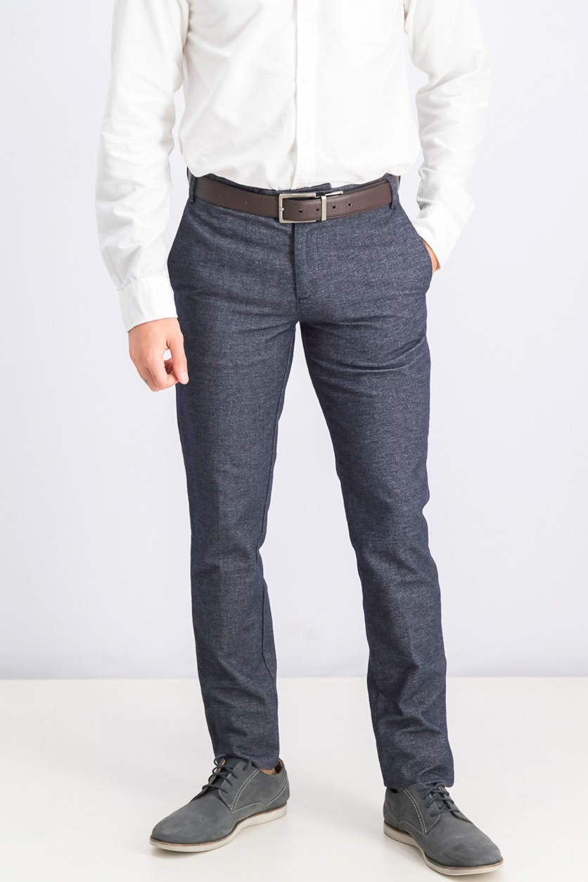 Men's Stamford Fit Twill Pants, Washed Navy