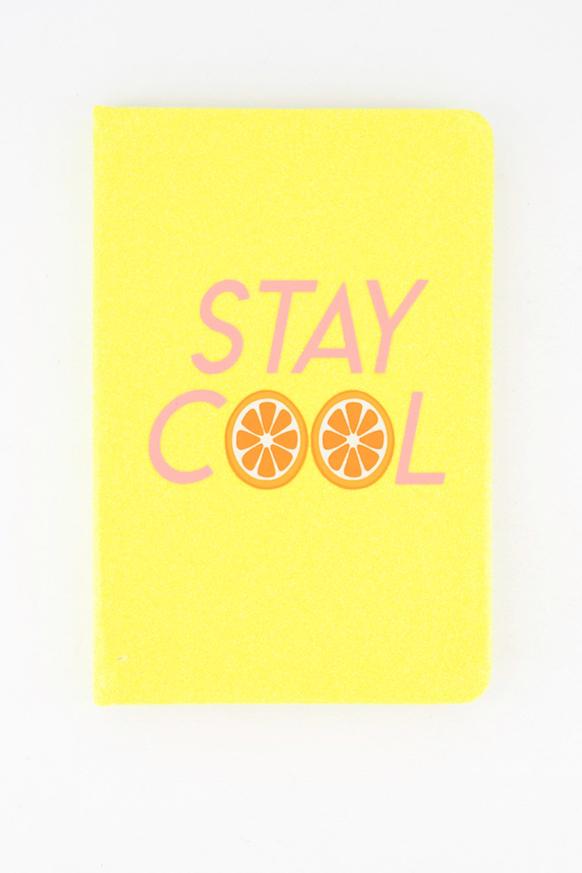 Stay Cool Notebook, Yellow Combo