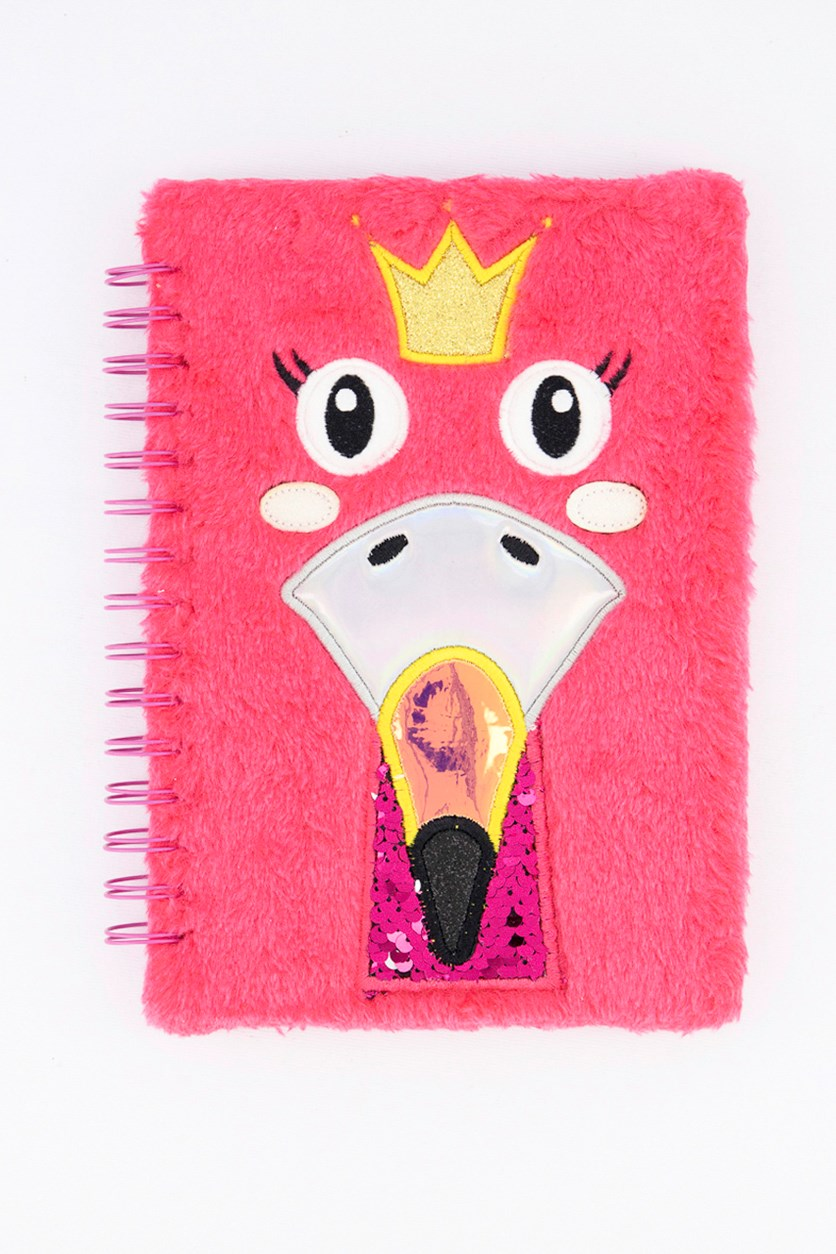 Key Item Spiral Notebook, Pink Combo